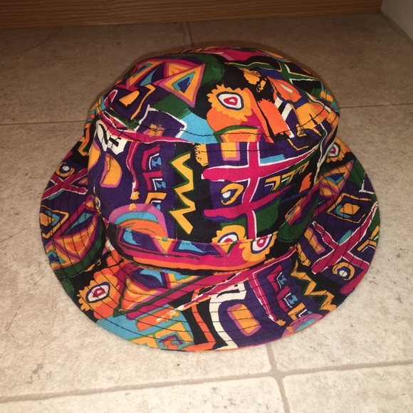2f87d357ded bucket hat Other - Colorful Bucket Hat